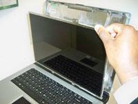 как поменять матрицу на ноутбуке
