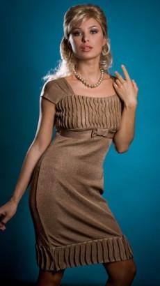 Фото №1: Модное женское платье